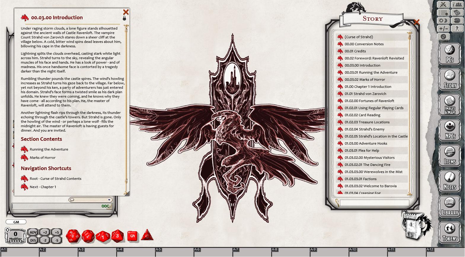 Fantasy Grounds - D&D Curse of Strahd
