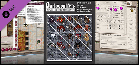 Fantasy Grounds - Top-Down Tokens - Darkwoulfe's Token Pack Vol 6