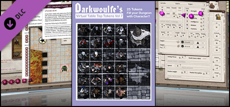 Fantasy Grounds - Top-Down Tokens - Darkwoulfe's Token Pack Vol 7