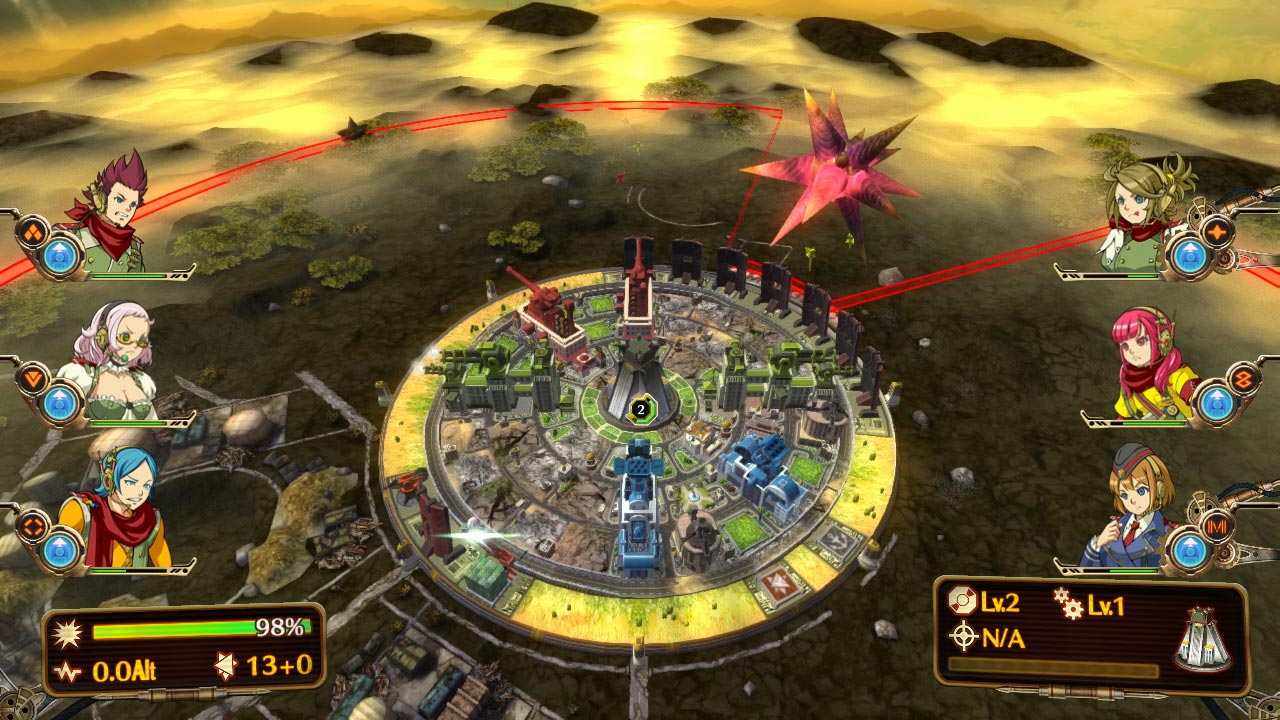 Aegis of Earth Protonovus Assault Screenshot 3