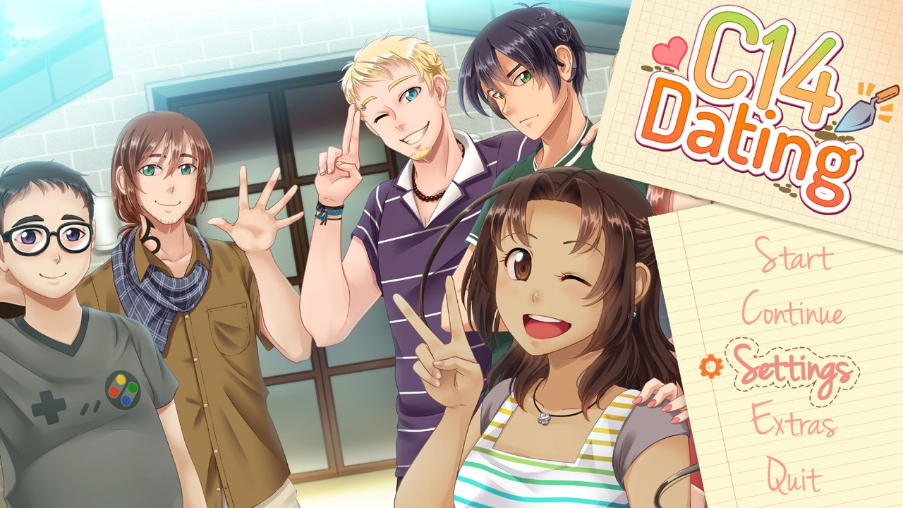 Mobile dating sim apps