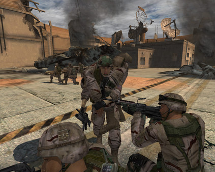 Скриншот из Full Spectrum Warrior