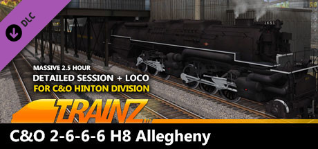 TANE DLC: C&O 2-6-6-6 H8 - New River Mining Coal Run
