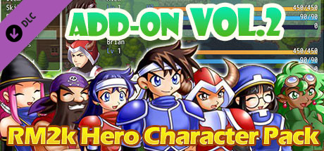 RPG Maker MV - Add-on Vol 2: RM2K Hero Character Pack on Steam