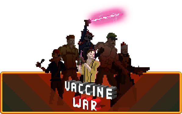 STEAM / PC, MAC] VACCINE WAR available now for purchase on Steam