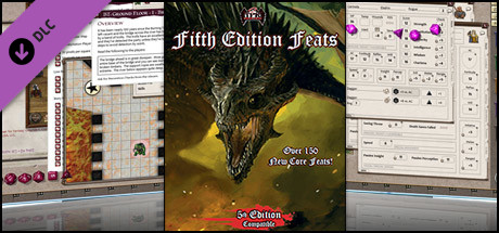 Fantasy Grounds - 5E: Fifth Edition Feats