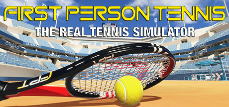 First Person Tennis – The Real Tennis Simulator Capa