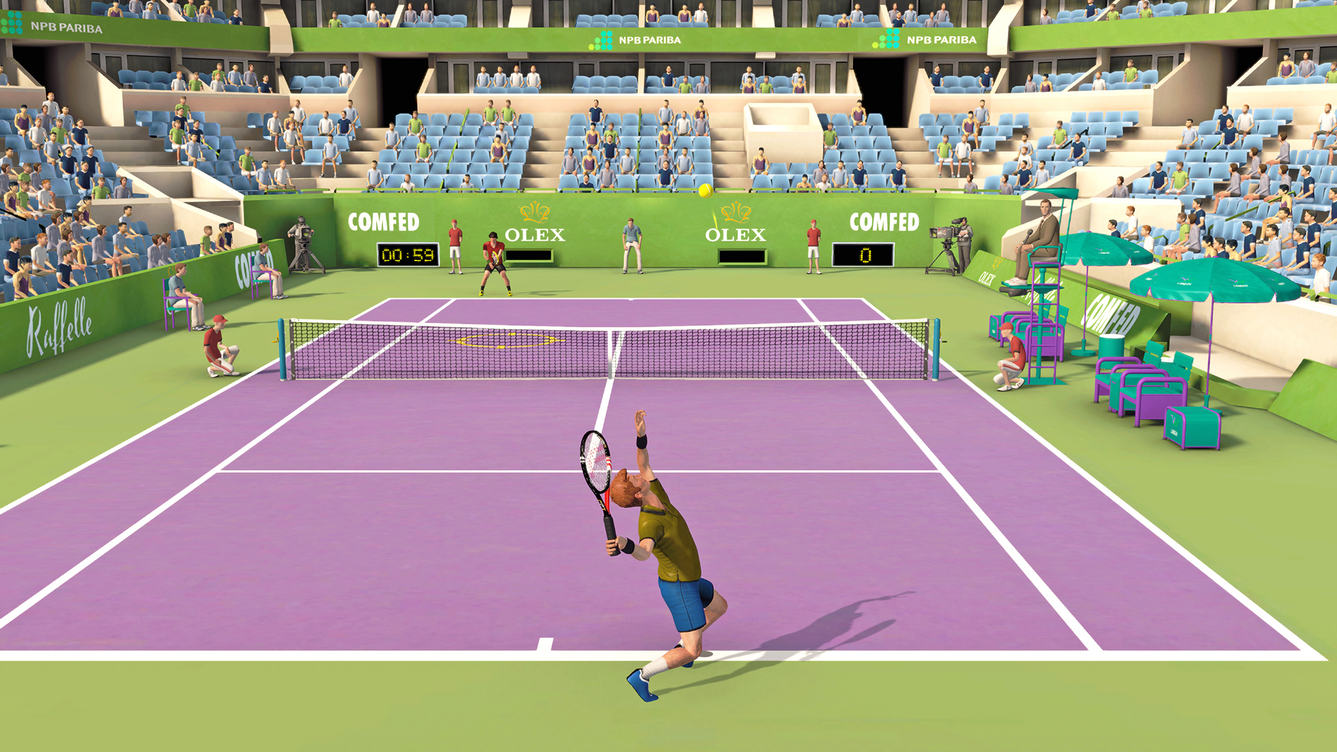 First Person Tennis – The Real Tennis Simulator (2019) / License