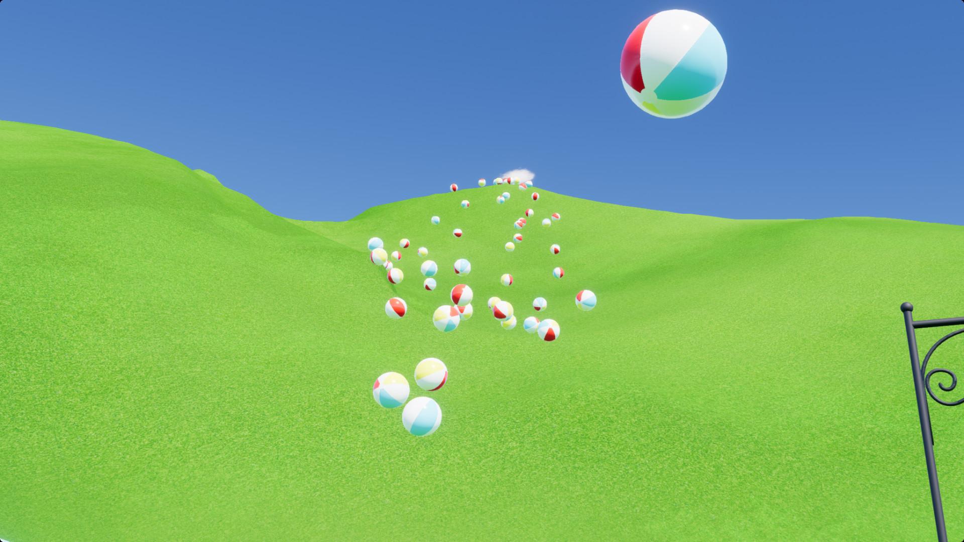 beach ball games - HD1920×1080