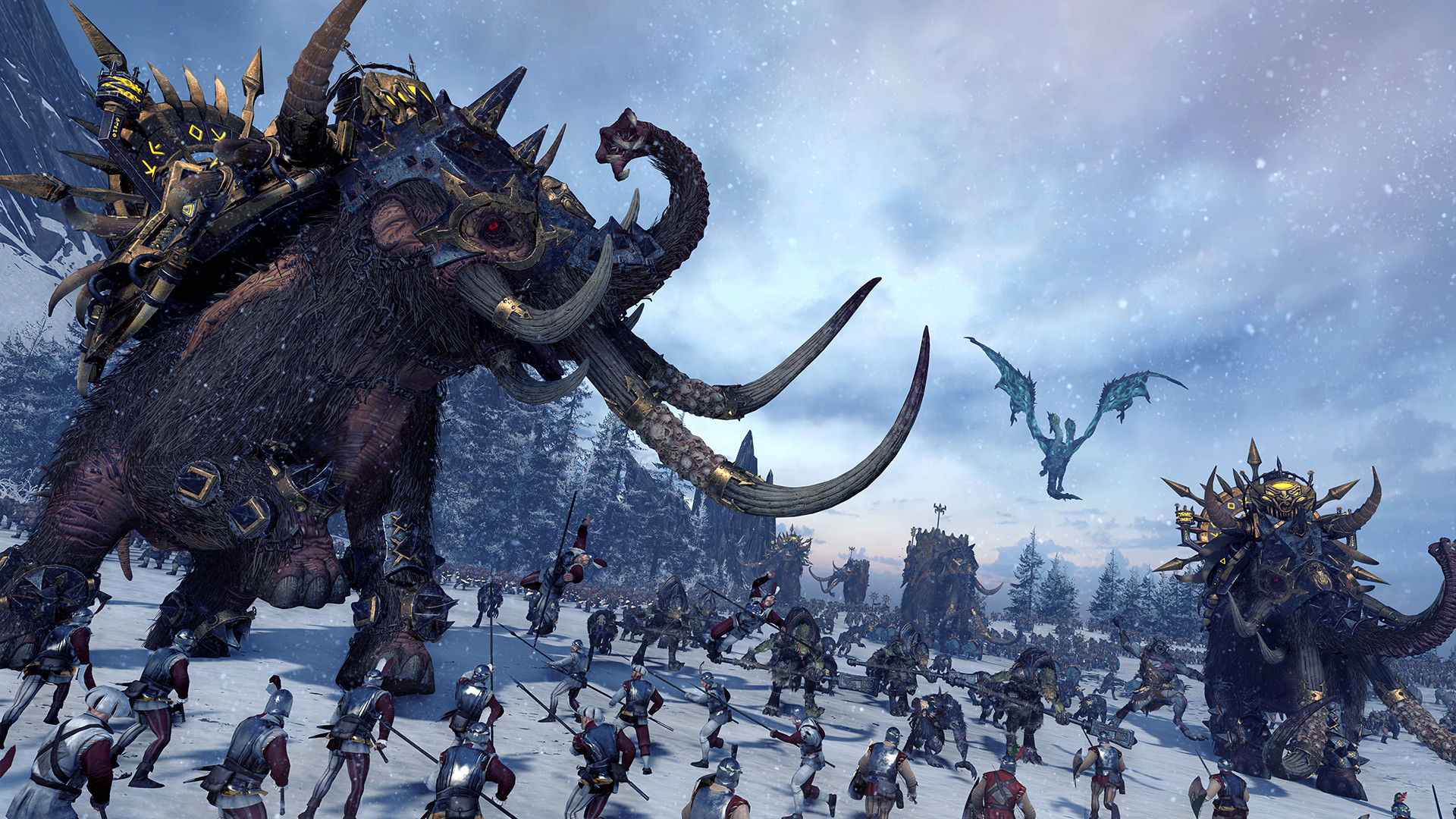 Total War: WARHAMMER - Norsca Torrent