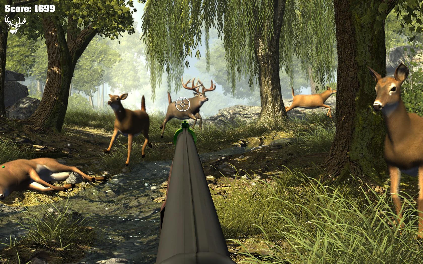 MAME big buck hunter 2006 call of the wild 0.177 - YouTube
