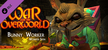 War for the Overworld - Bunny Worker Skin