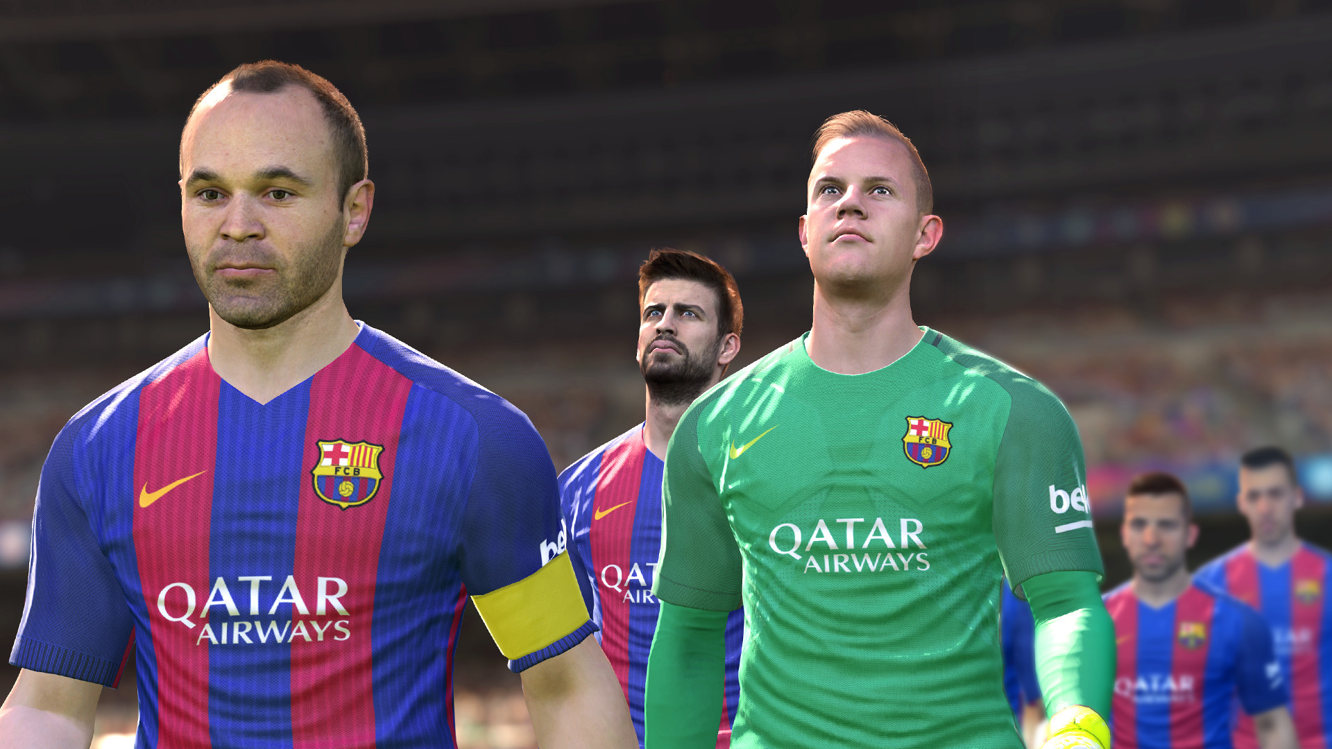 Pro Evolution Soccer 2017 Screenshot 1