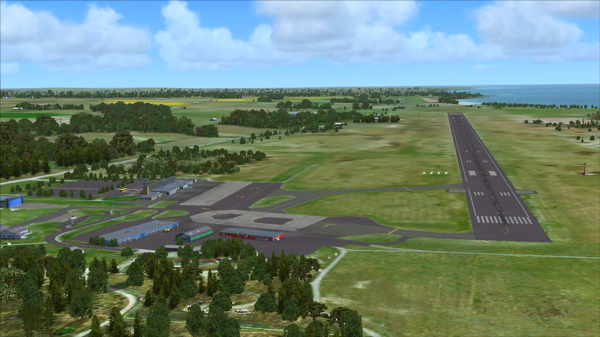 how to add airport fsx