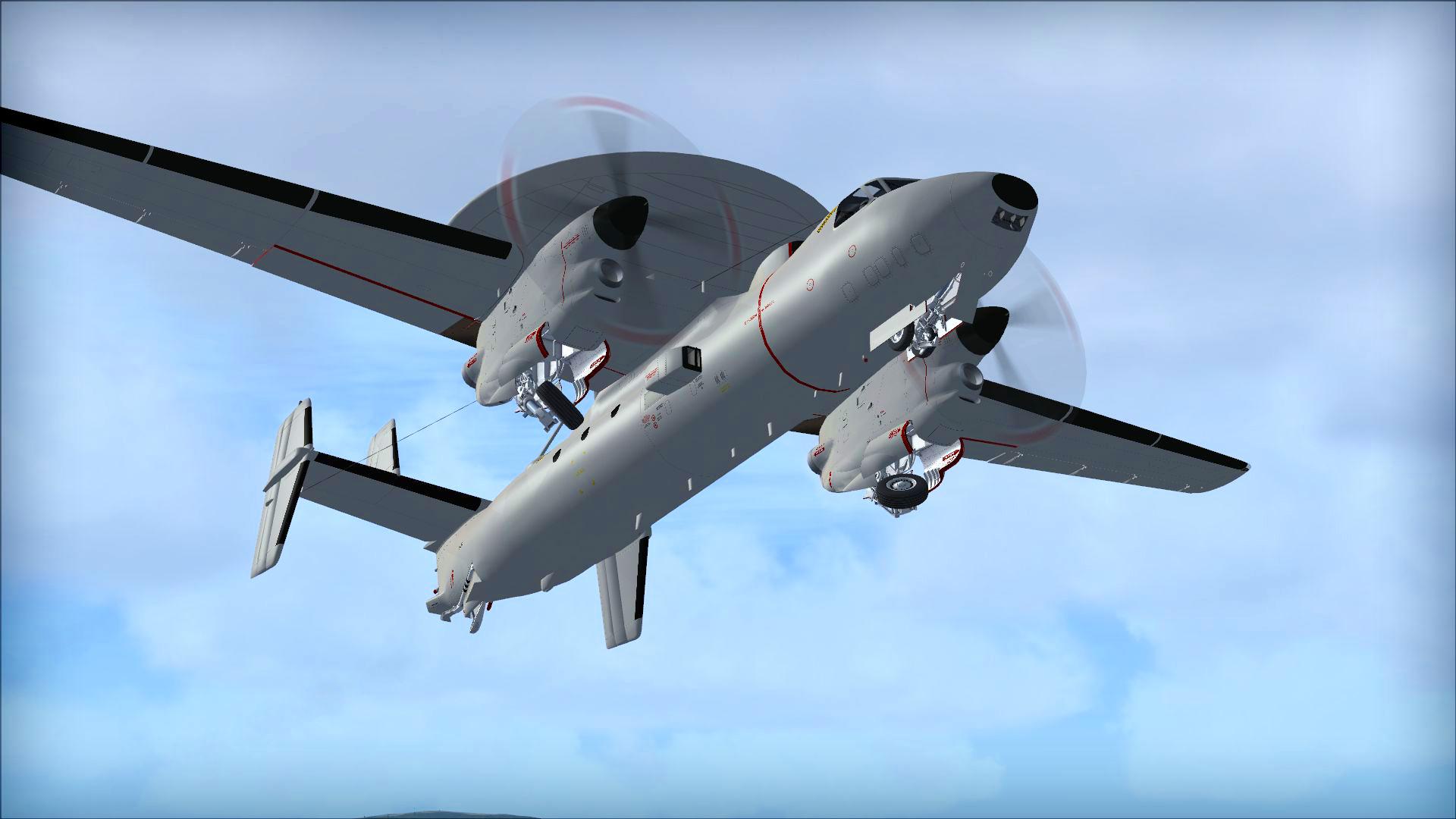 FSX: Steam Edition: Grumman E-2C Hawkeye® Add-On