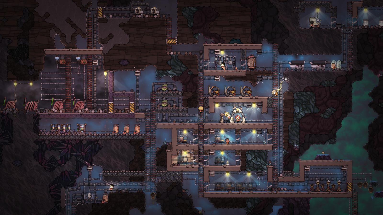 Скриншот игры Oxygen Not Included v327401