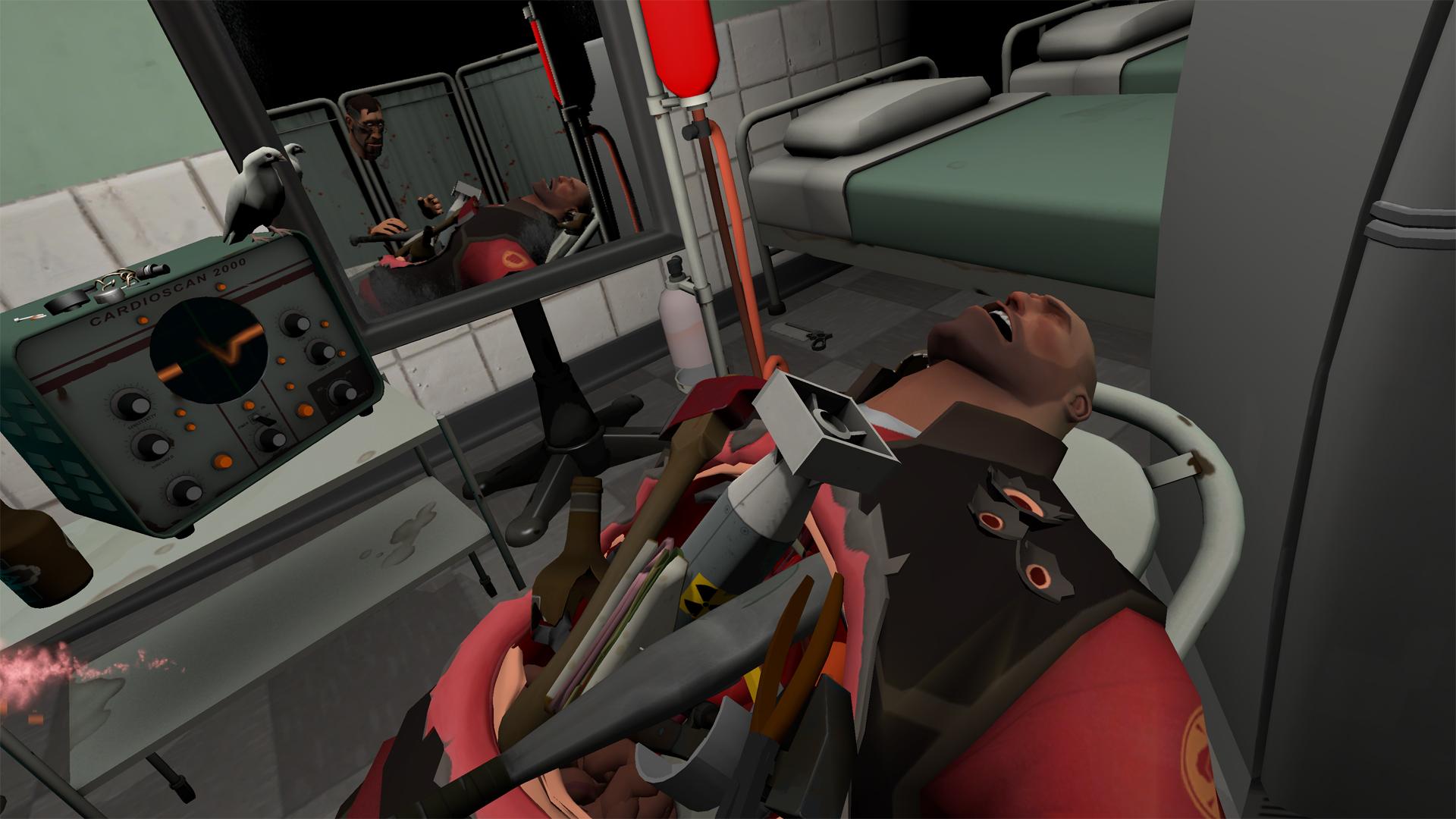 surgeon simulator vr meet the medic on steam