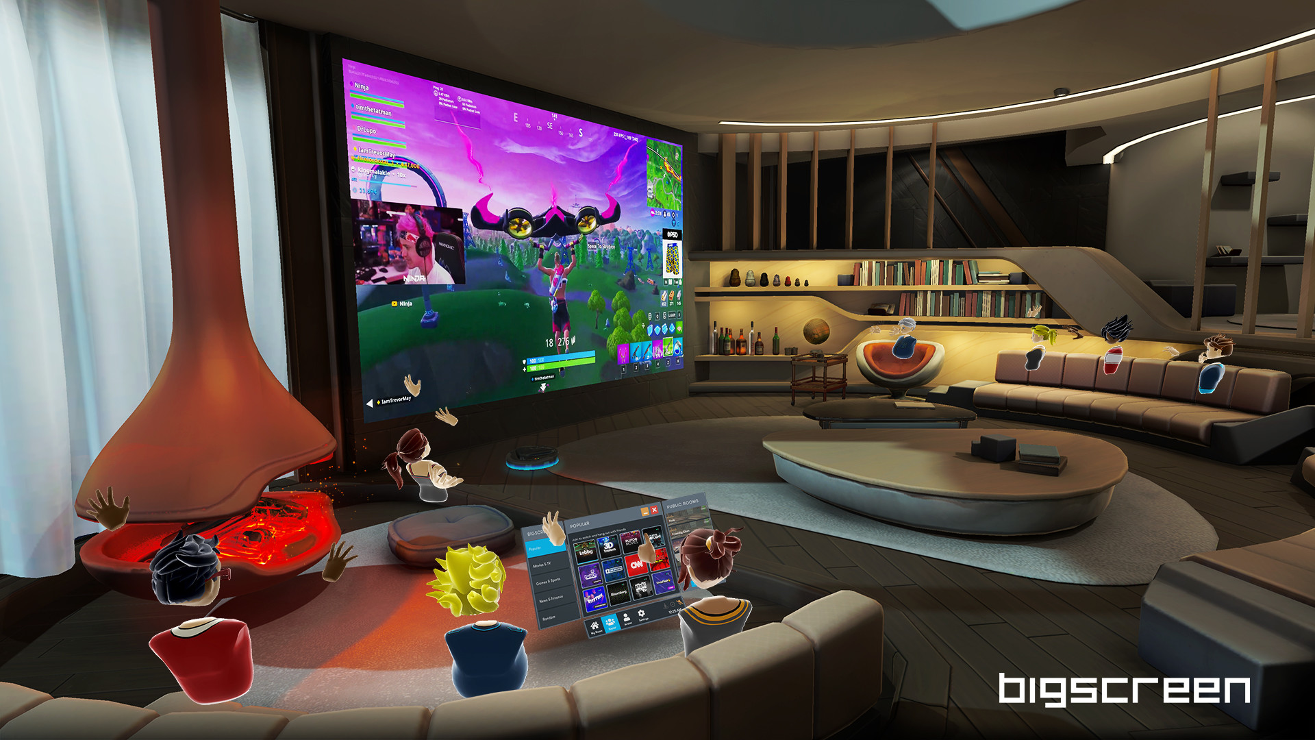 Bigscreen Beta on Steam