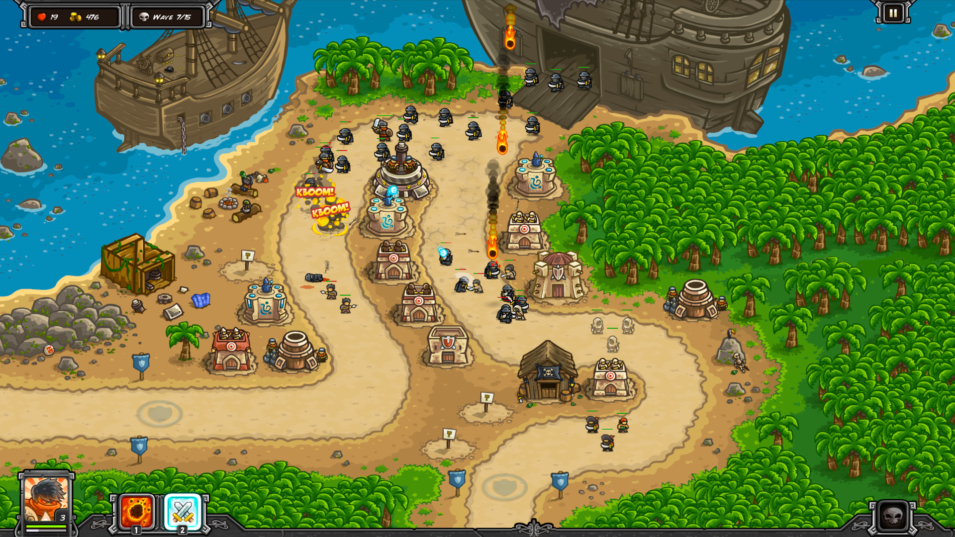 Kingdom rush 2 untuk pc gratis