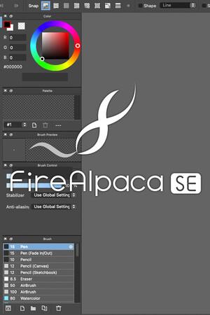 FireAlpaca SE poster image on Steam Backlog