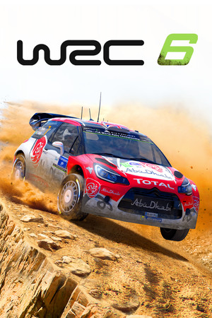 WRC 6 FIA World Rally Championship poster image on Steam Backlog