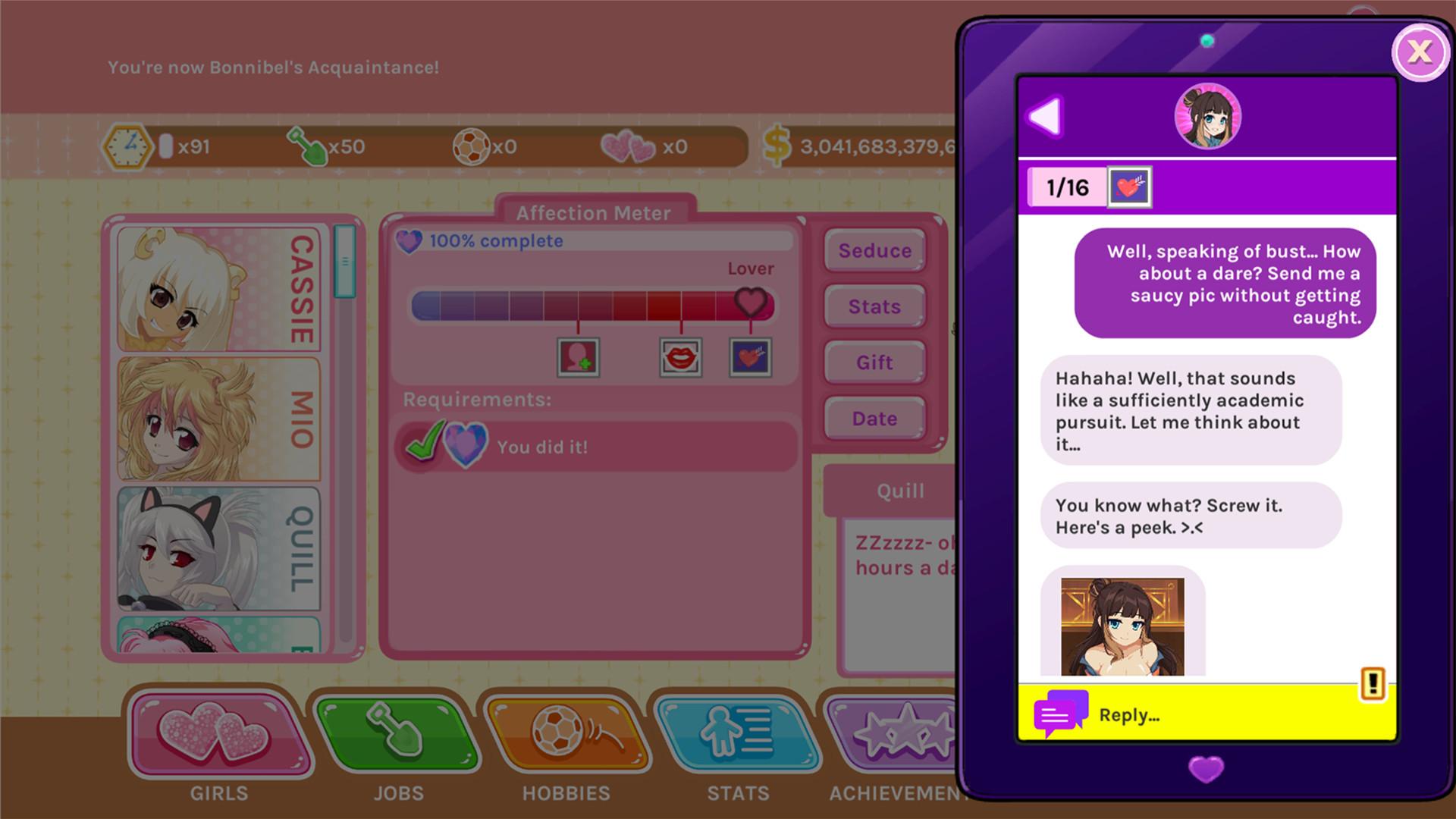 Min söta förslag dating Sims