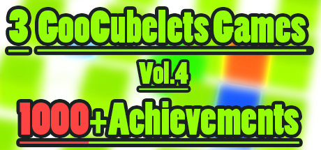 3 GooCubelets Games Vol.4