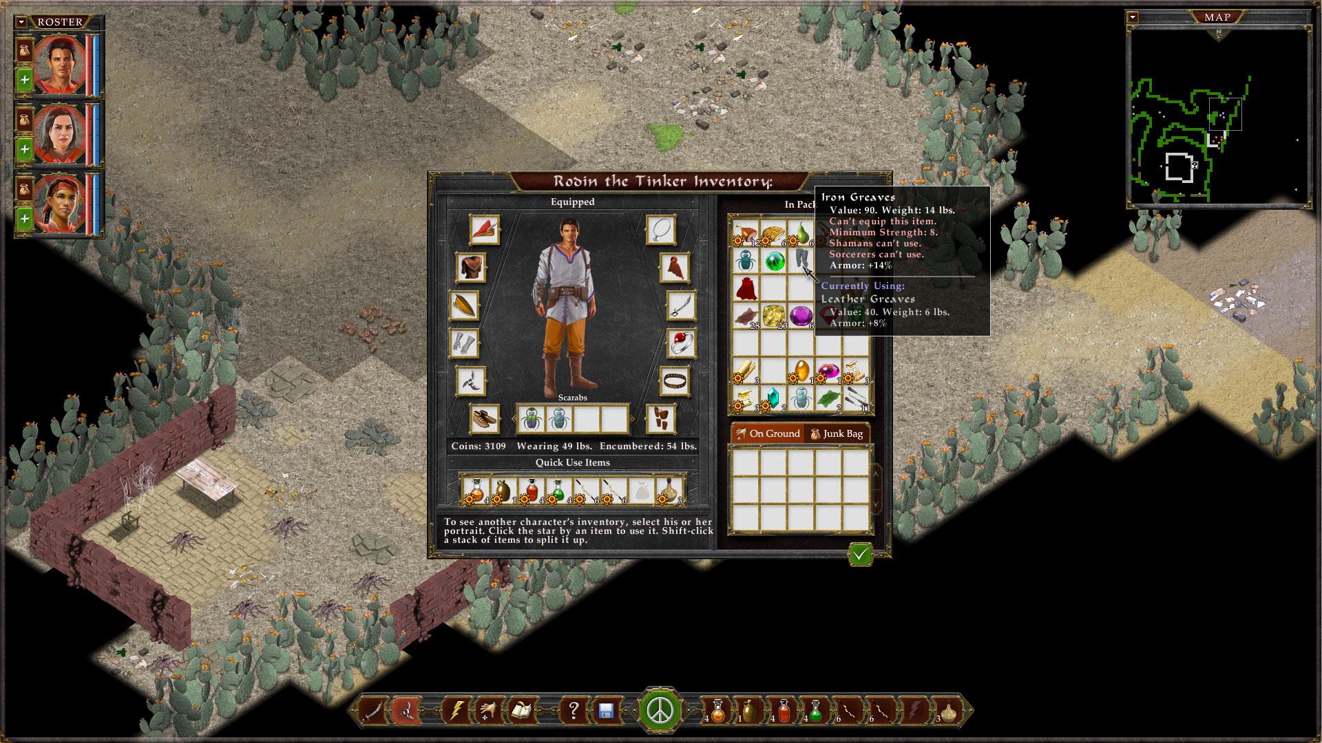 Avadon 3: The Warborn Screenshot 3
