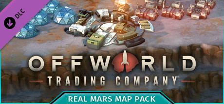 Offworld Trading Company - Real Mars Map Pack DLC