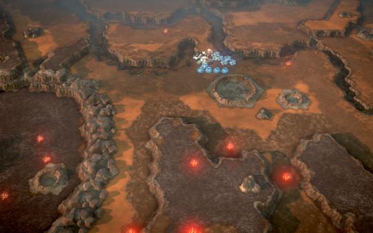 скриншот Offworld Trading Company - Real Mars Map Pack DLC 3