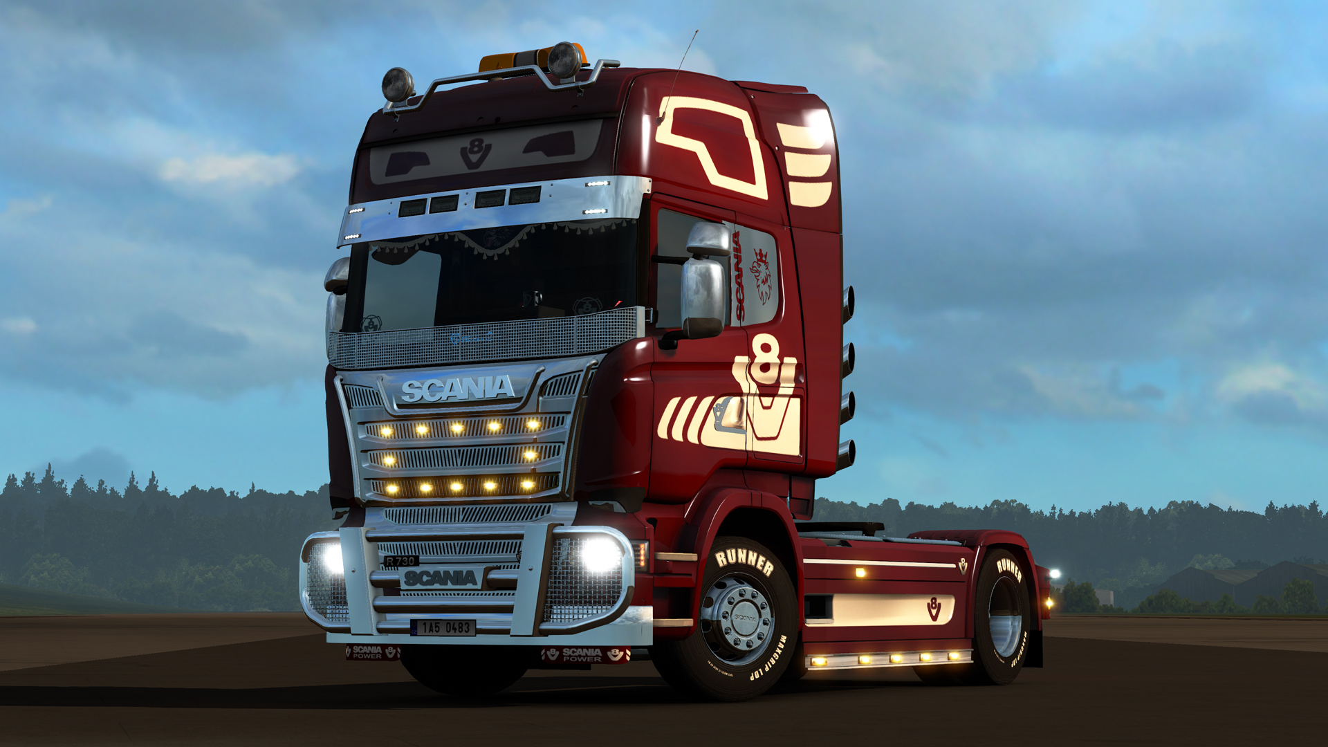 euro truck simulator 2 mighty griffin tuning pack on steam. Black Bedroom Furniture Sets. Home Design Ideas