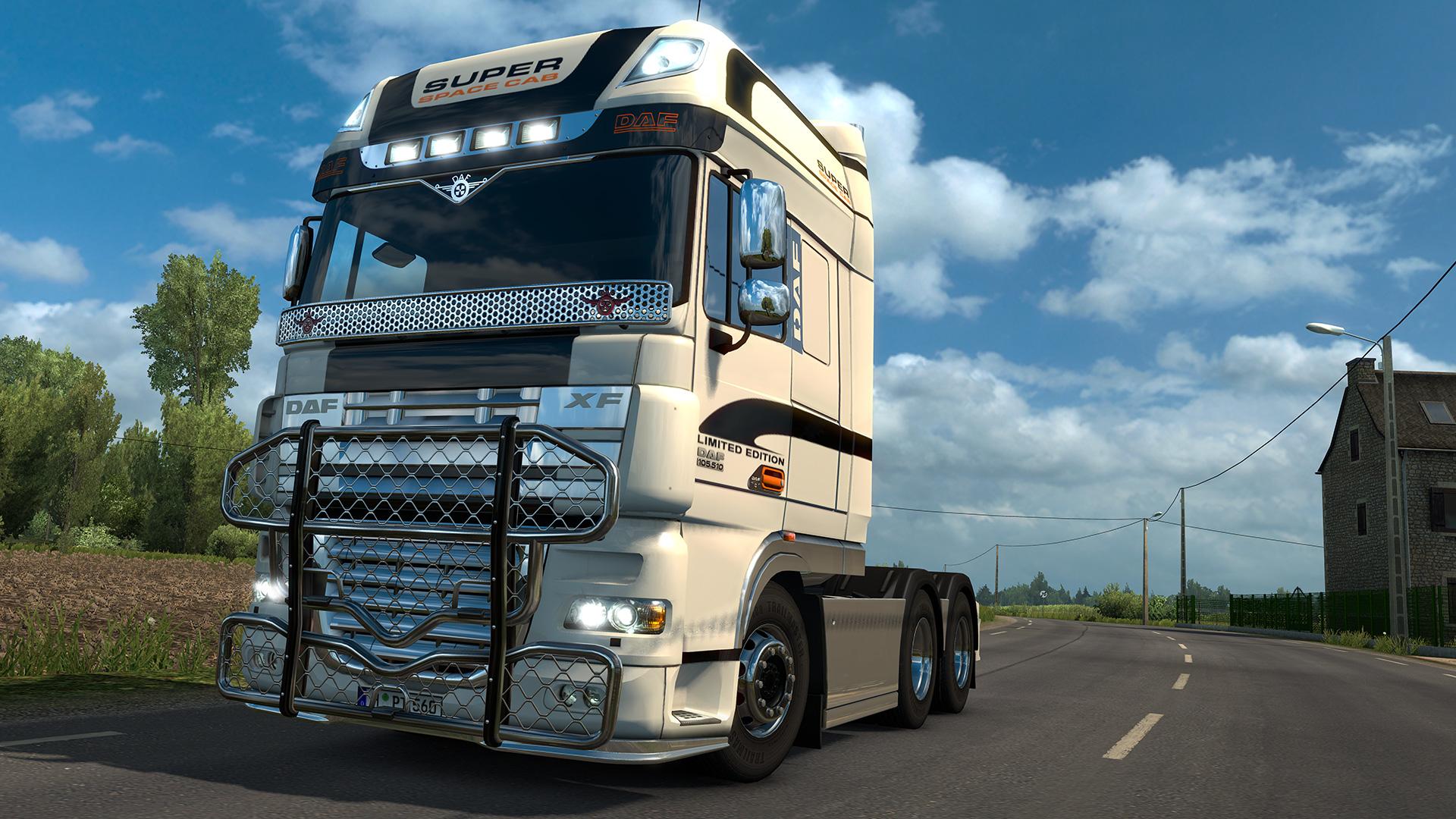Euro Truck Simulator 2 - DAF Tuning Pack
