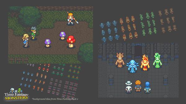 RPG Maker VX Ace - Time Fantasy: Monsters