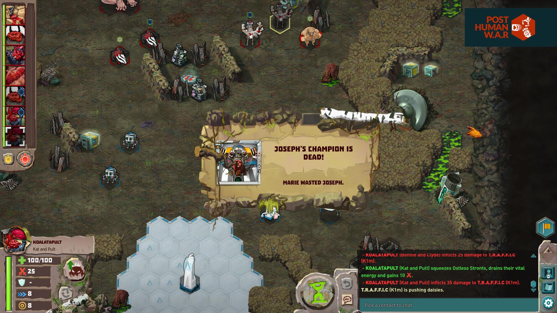 Post Human W.A.R Screenshot 3