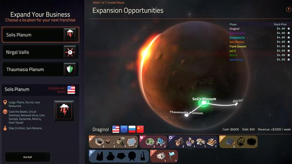 скриншот Offworld Trading Company - Soundtrack DLC 1