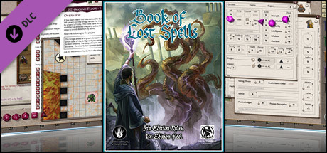 Fantasy Grounds - 5E: Book of Lost Spells (Fifth Edition) on Steam