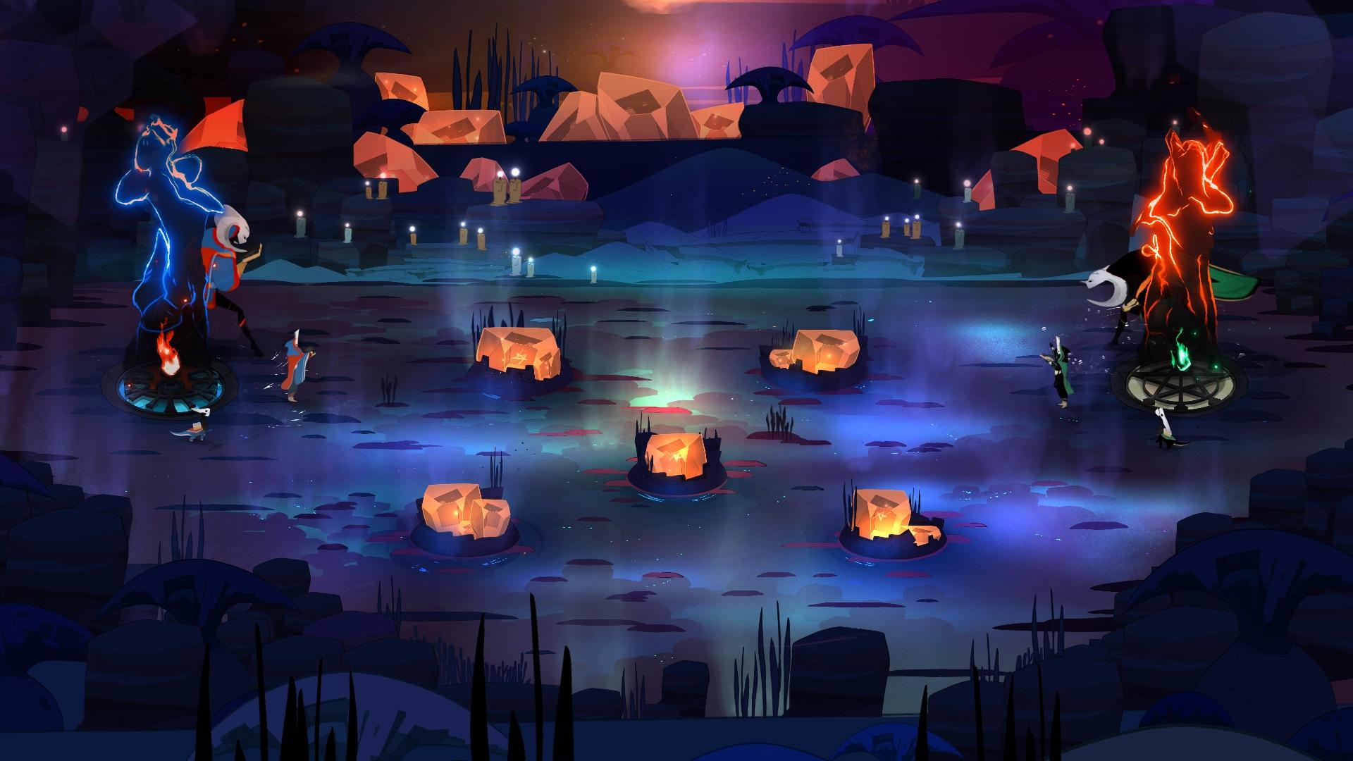 Kết quả hình ảnh cho Pyre game