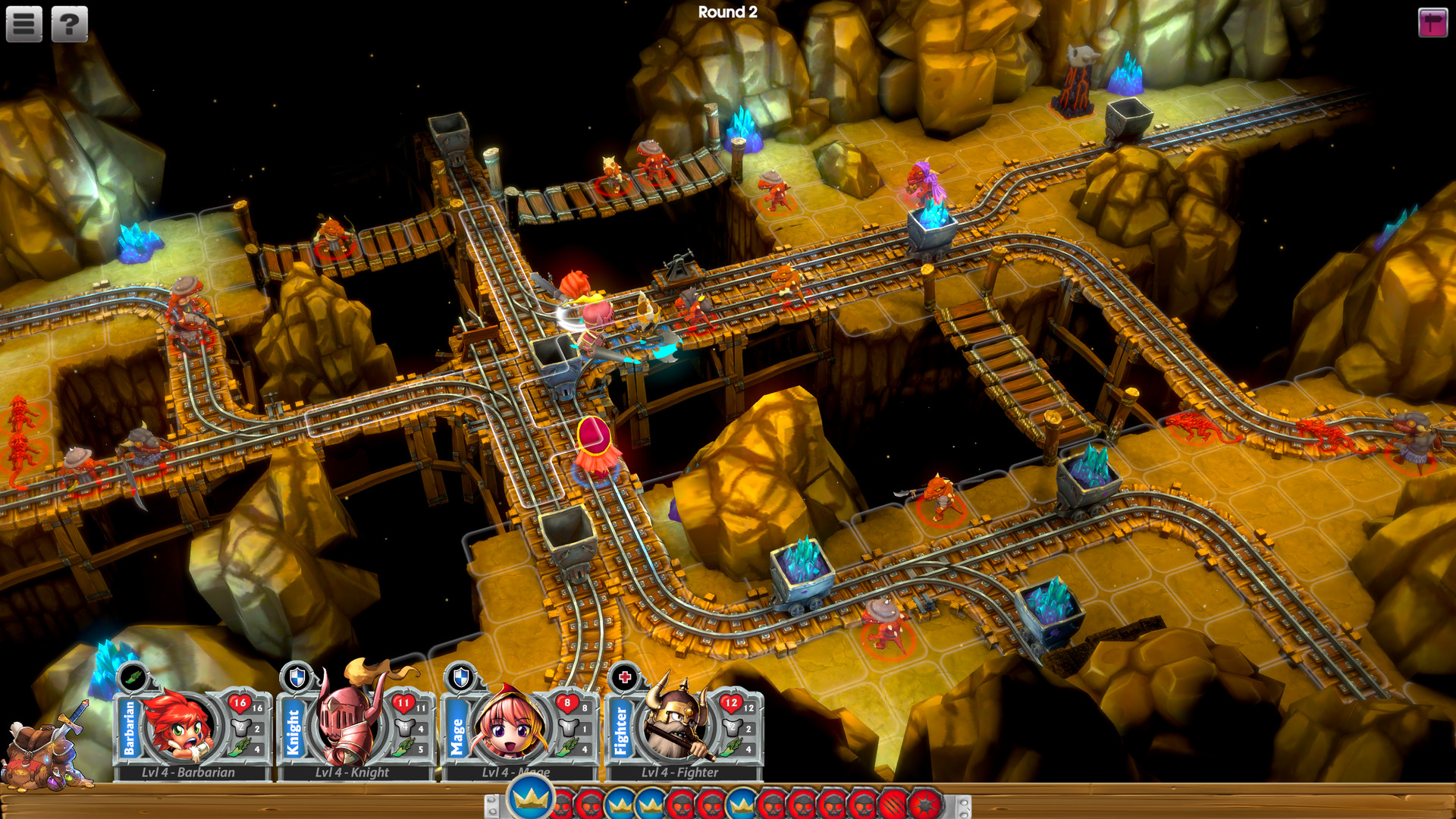 Super Dungeon Tactics Screenshot 1