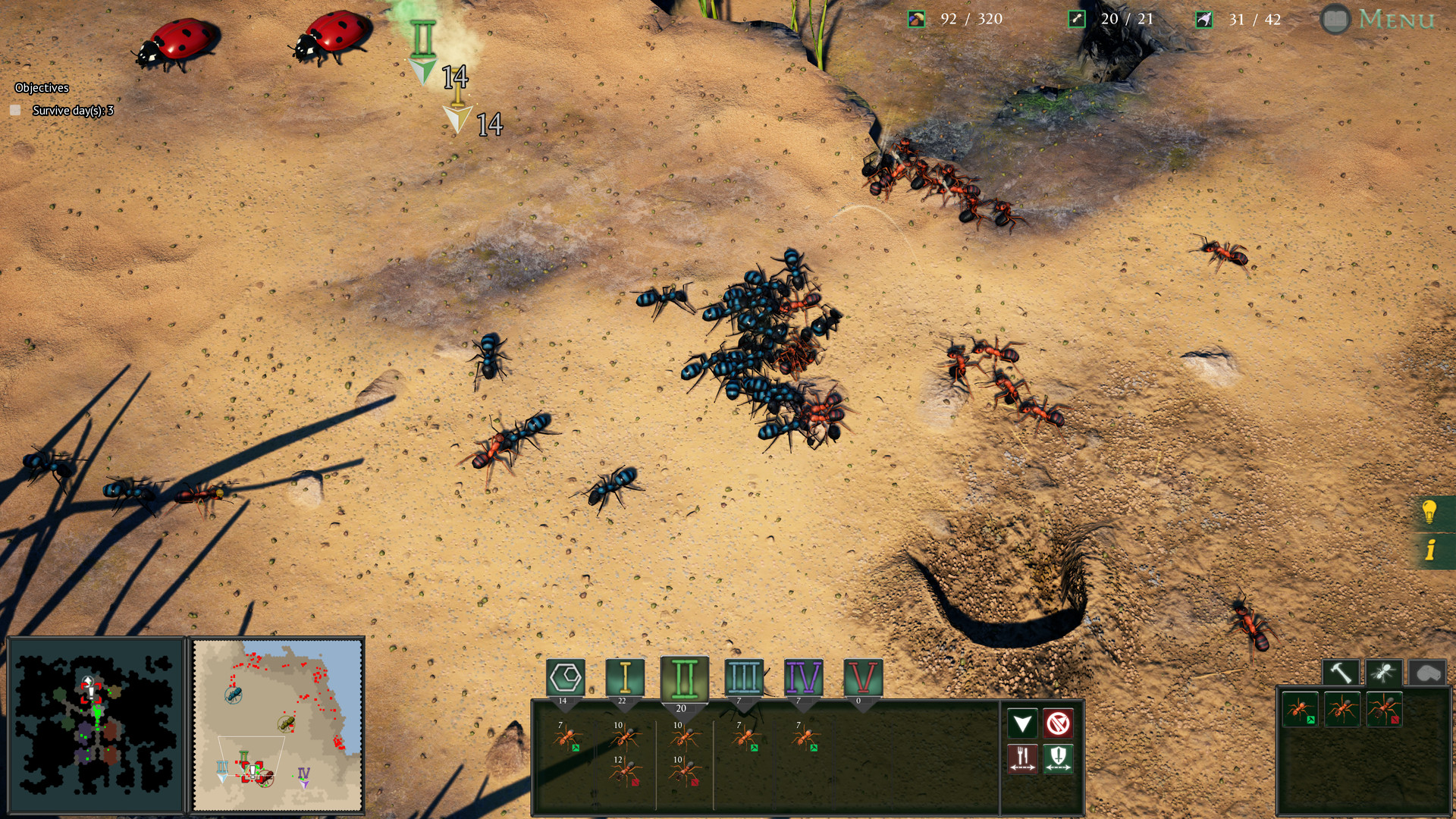 Empires of The Undergrowth Screenshot 3
