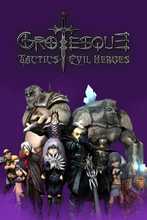 Grotesque Tactics: Evil Heroes poster image on Steam Backlog