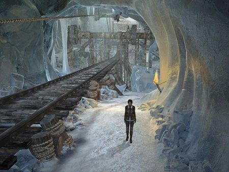 скриншот Syberia II 3