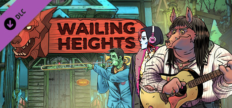 Wailing Heights - Original Soundtrack and PDF Comic Artbook