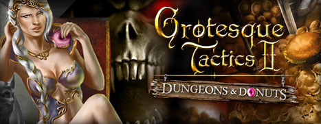 Grotesque Tactics 2 – Dungeons and Donuts - 暗龙骑士团 2