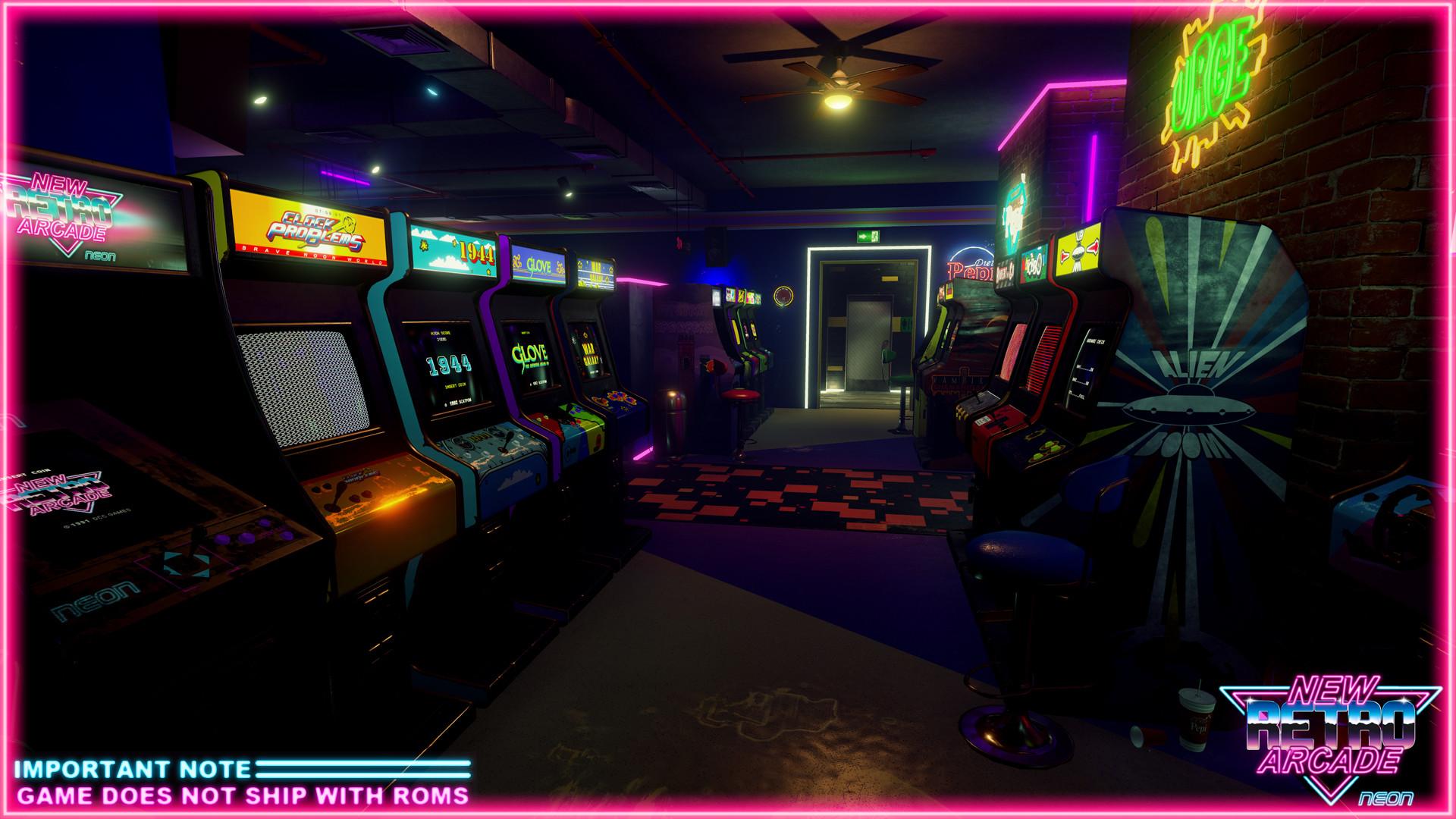 new retro arcade rom pack