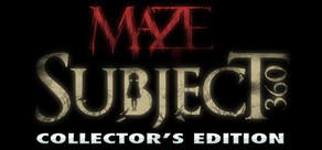 Maze: Subject 360 Collector's Edition cover art