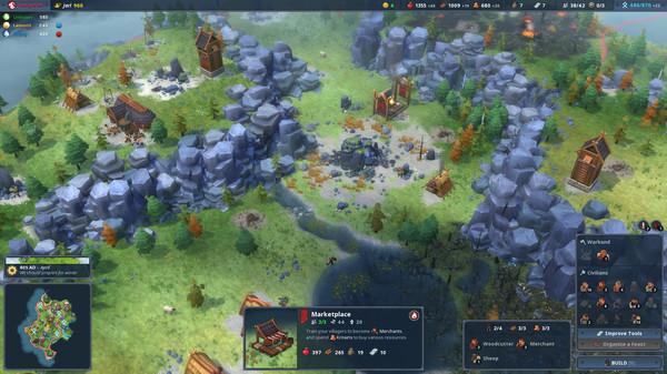 скриншот Northgard 2