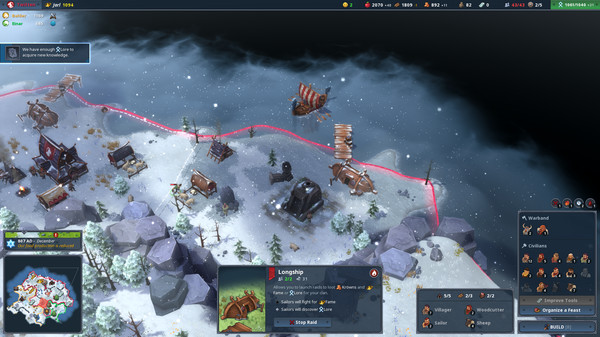 скриншот Northgard 1