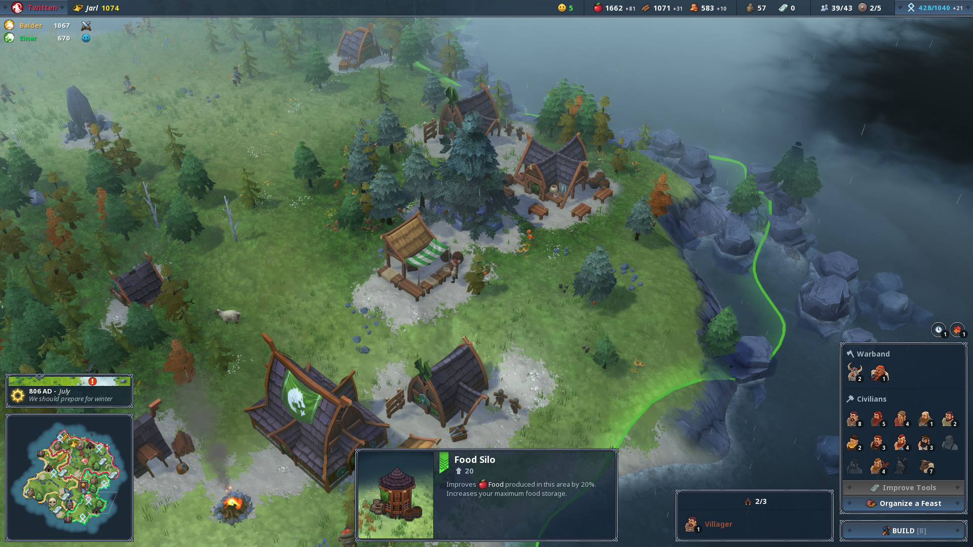 Find the best laptop for Northgard