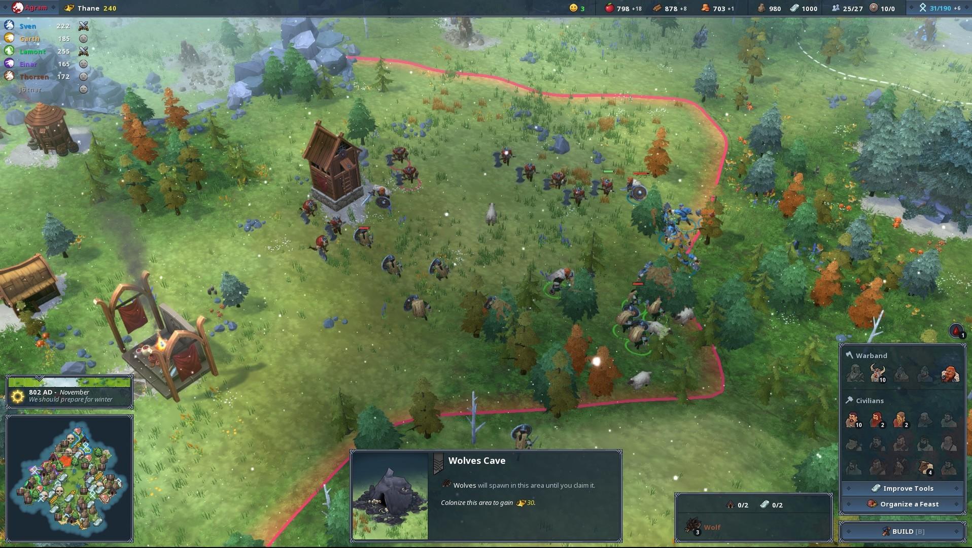 Northgard скриншот 5