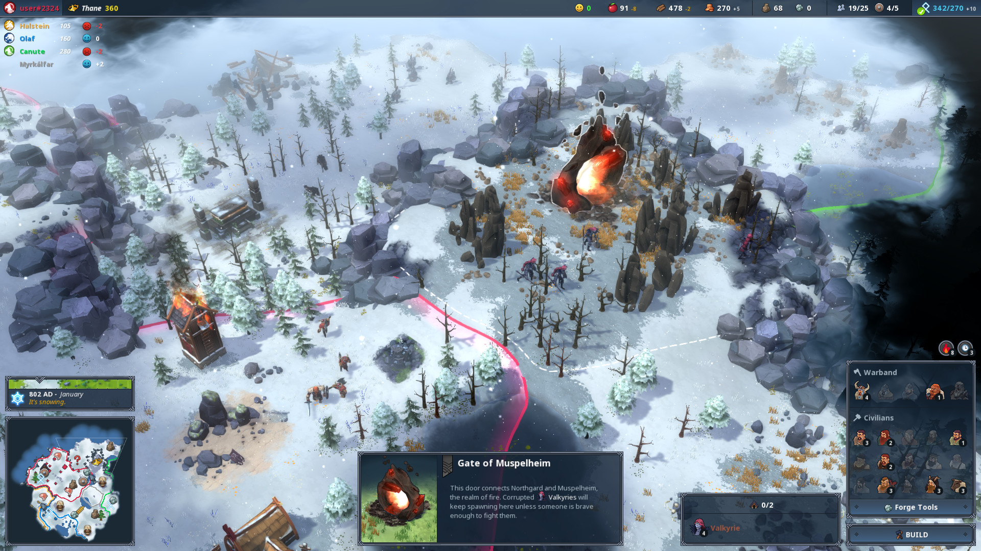 Northgard скриншот 3